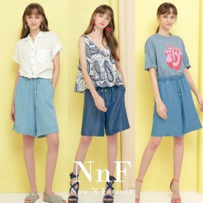 NNF 엔엔에프  텐셀 이지 숏 팬츠 3종