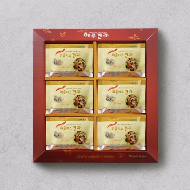 [설행사][1+1][넛츠앤팜스]위클리스 하루견과 선물세트(26g*30개입)