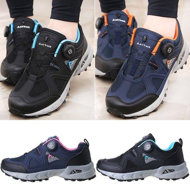 슈즈스마트 남자 등산화 다이얼 트레킹화 여자 런닝화 운동화 신발 J 2