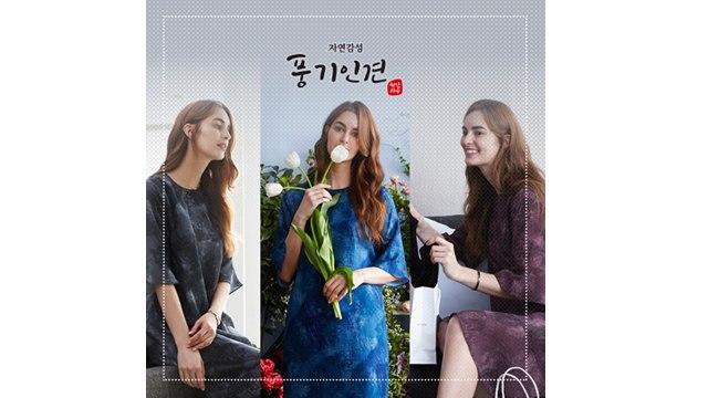 [초특가]자연감성 풍기인견 원피스 3종세트