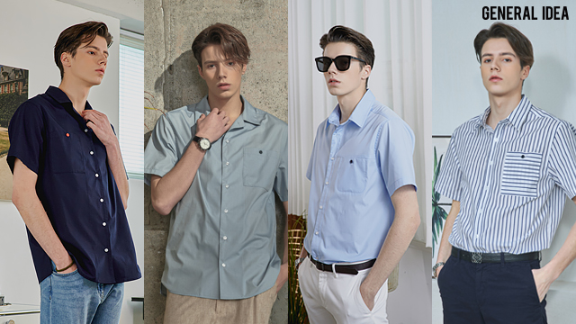 (20S/S 신상 초특가 디자이너 브랜드)제너럴아이디어 클래식 셔츠 4종