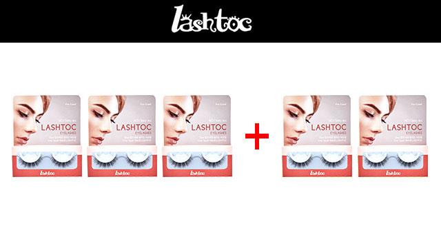 래쉬톡 원터치 속눈썹 재구매 패키지 5쌍 (로맨틱,러블리,섹시 선택 가능)