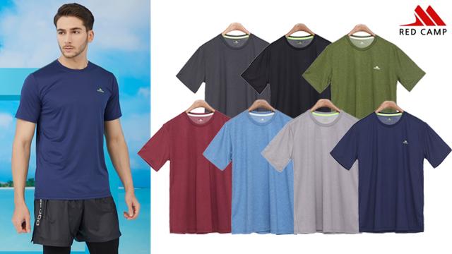 [초특가](20SS)레드캠프 남성 여름 콜드터치 카치온 티셔츠 7종
