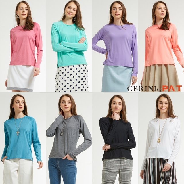 (20SS)CERINI by PAT 여성  올데이 기능성 티셔츠 8종