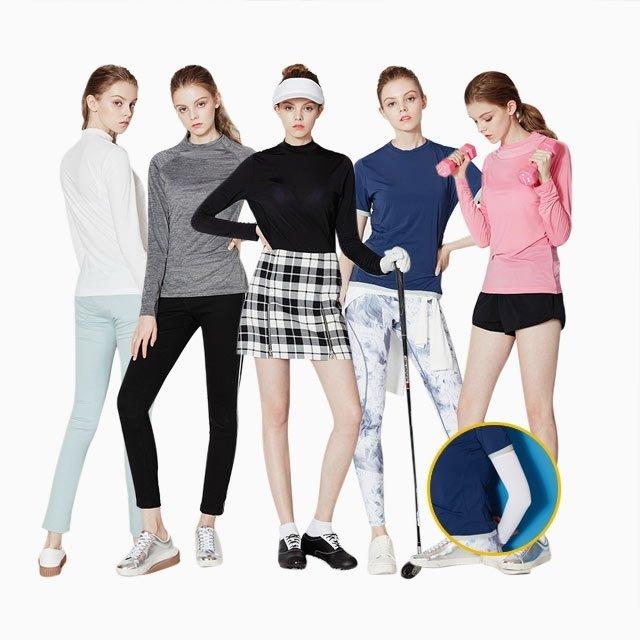 에어캠프 여성 라이트 베이스 레이어 쿨셔츠 6종