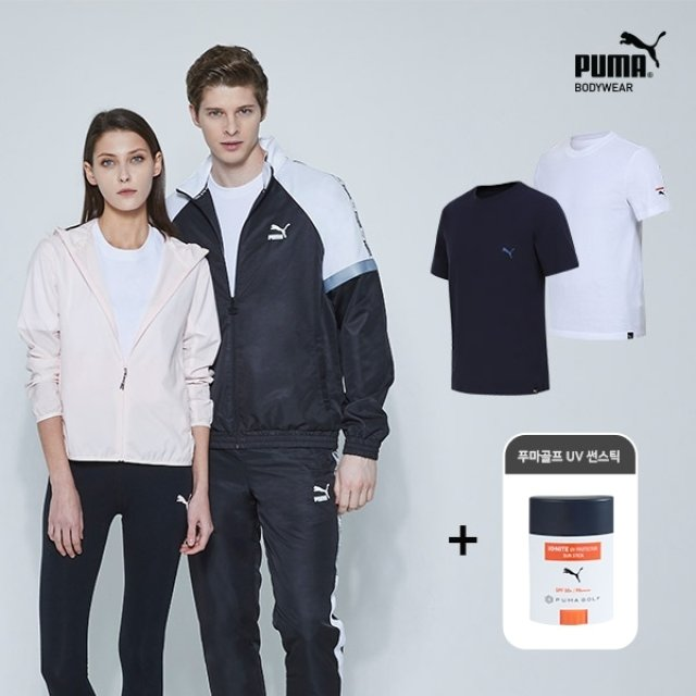 [푸마] NEW 남/녀 공용 베이직 언더셔츠 1종 + 푸마골프 썬스틱 1종 택일
