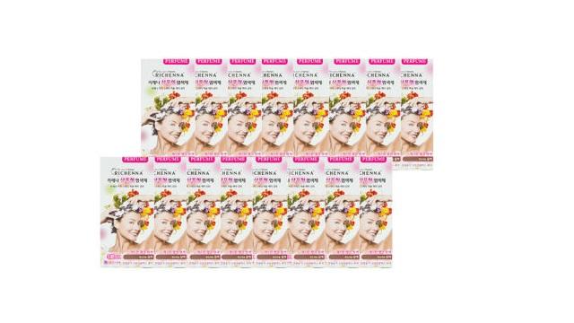 리체나 샴푸형 퍼퓸 염색제 16박스 (무료체험 7일)