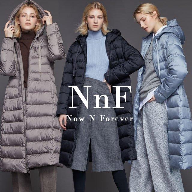 NNF 롱 패딩코트