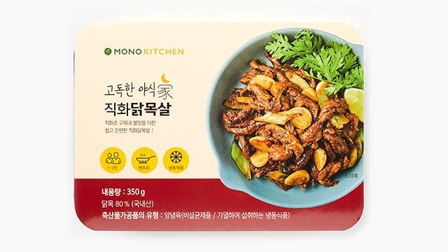 엘에프푸드 고독한야식가 직화닭목살 350G
