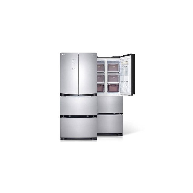 [LG전자] LG DIOS 김치톡톡 스탠드 김치냉장고 402L 스타리샤인 (K418TS35)