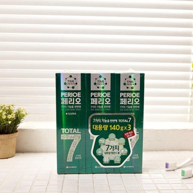 LG 페리오 치약 양치 욕실용품 스트롱쿨민트