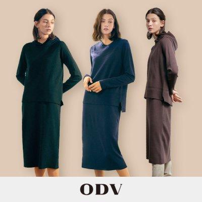 21FW ODV 시그니처 니트원피스 베스트 컬렉션(원피스1종+베스트2종)