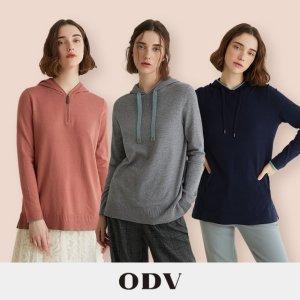 [ODV] 오디브 소프트 후드 니트 3종